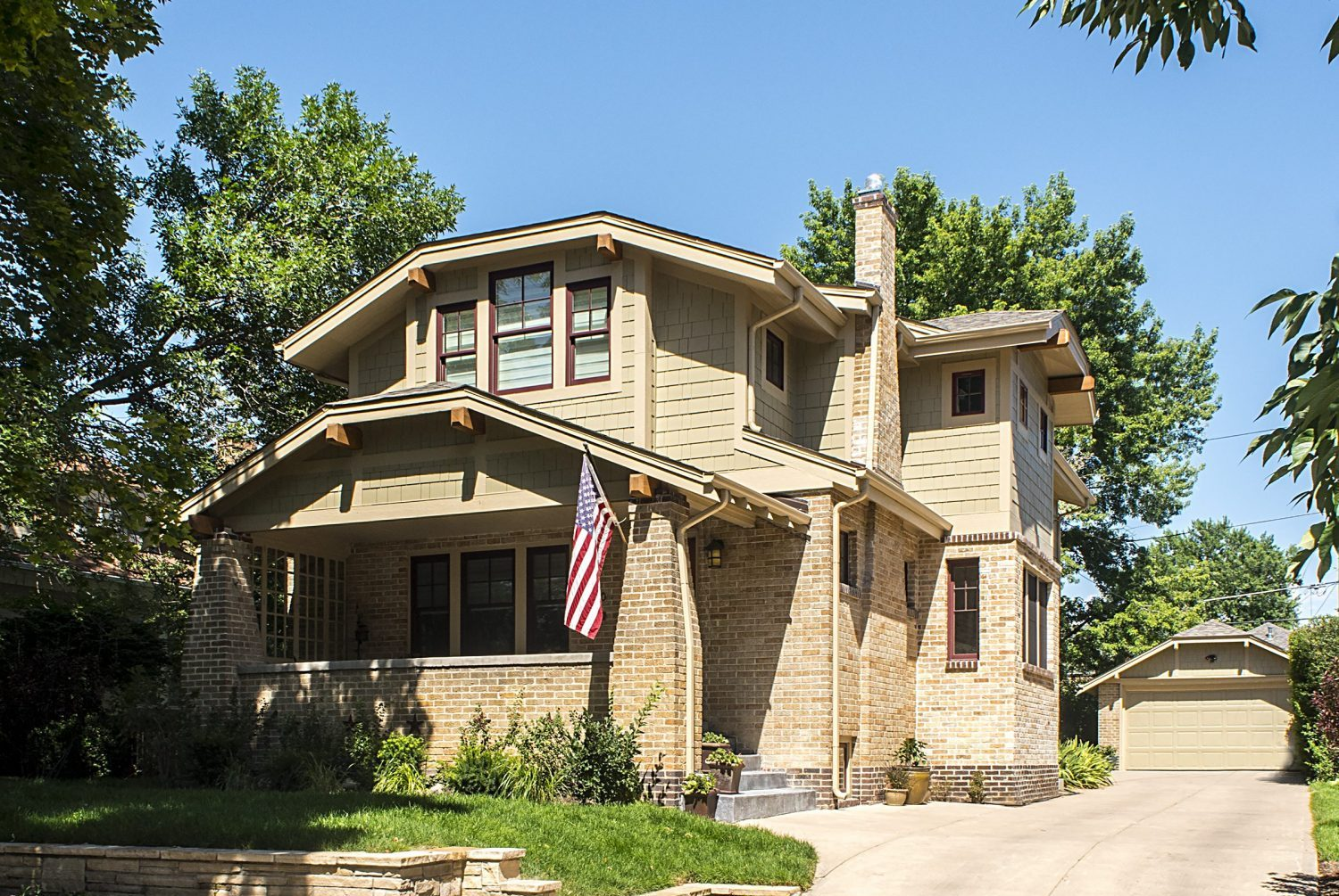 Classic Denver Craftsman Bungalow Remodel with Brick