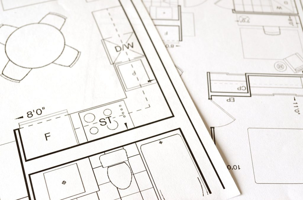CAD drafted floor plans