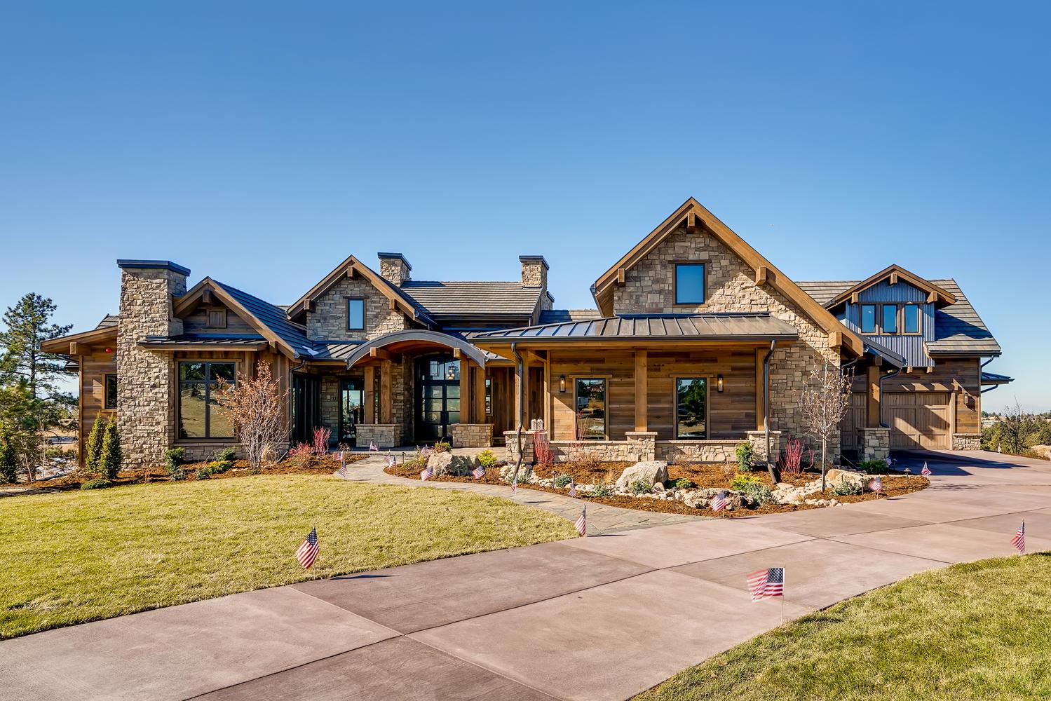 Custom Mountain Modern home in Colorado by award-winning firm, Godden Sudik Architects