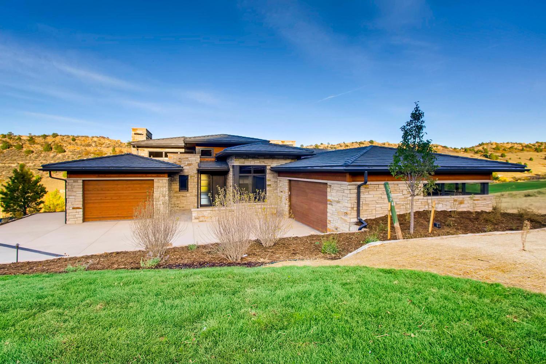 Modern Prairie home in Colorado designed by award winning firm Godden Sudik Architects