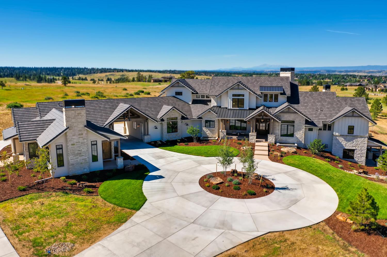 Modern farmhouse custom residence in Colorado by award-winning firm, Godden Sudik Architects