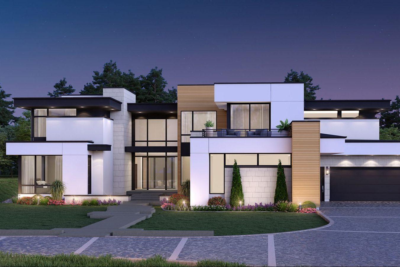 Award-winning modern home designed by Godden Sudik Architects