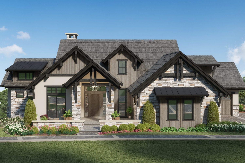 Colorado mountain modern style home designed by award winning firm, Godden Sudik Architects