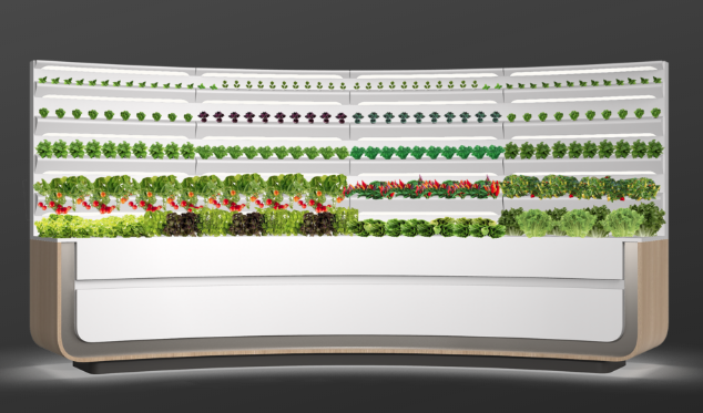GE's Homegrown in-home hydroponics system from the 2020 Consumer Electronics Show