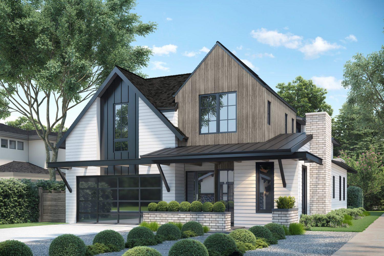 Modern Farmhouse Custom Home in Denver, Colorado designed by award-winning architectural firm, Godden Sudik Architects