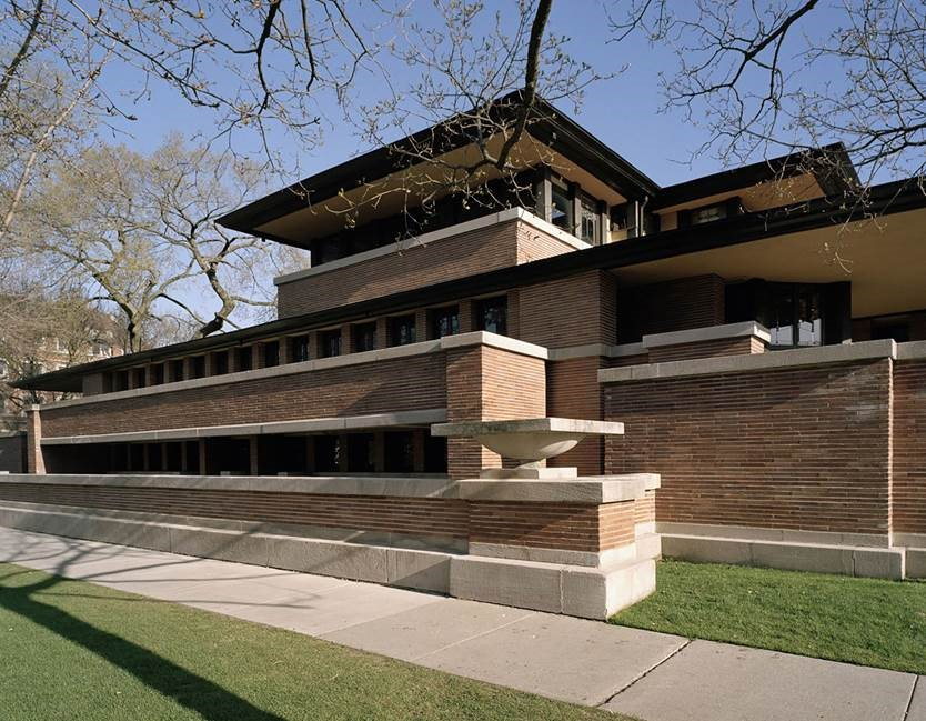 robie house by frank llyod wright