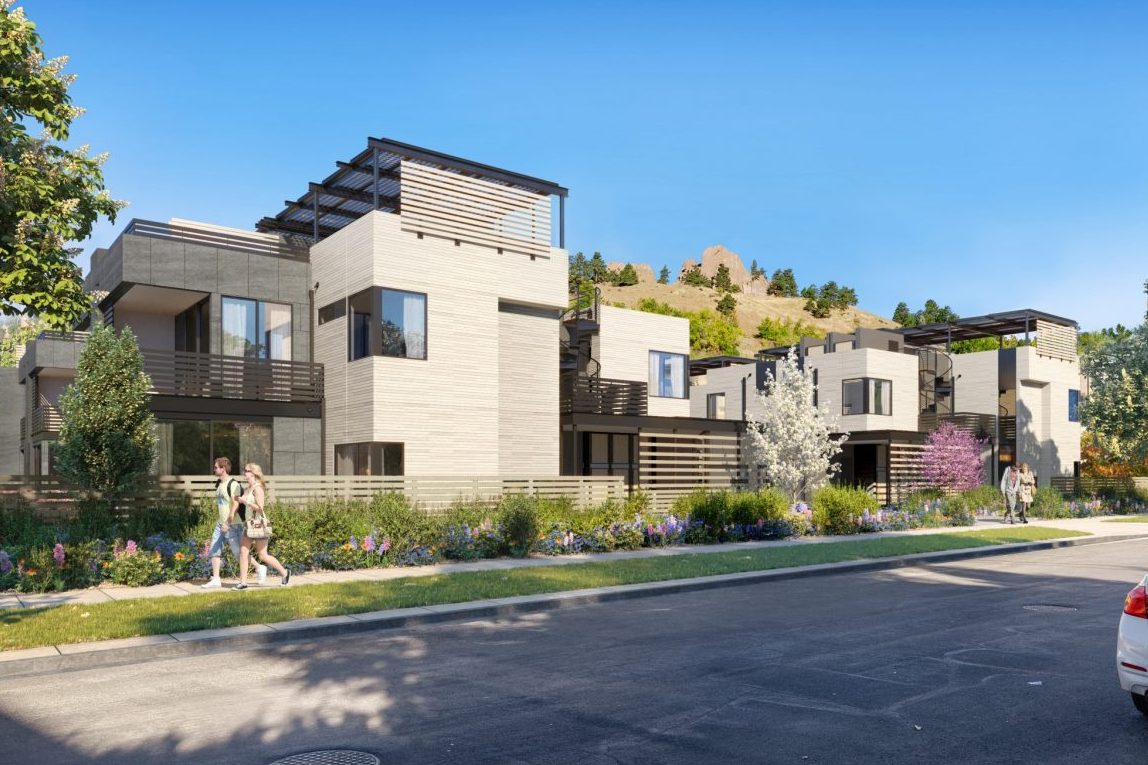 Colorado award winning architect single family home design