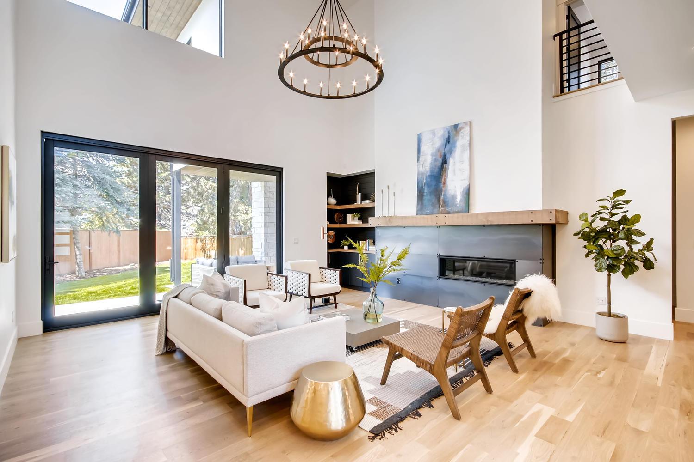 Colorado Architect custom modern rustic home