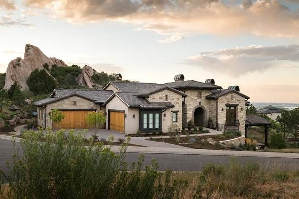 award winning architecture firm tuscan style home