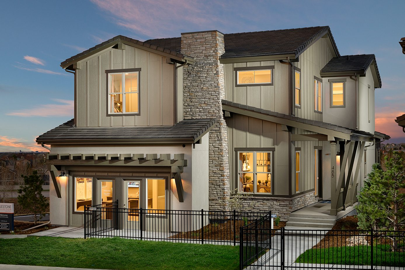 Award winning residential architecture firm single family home