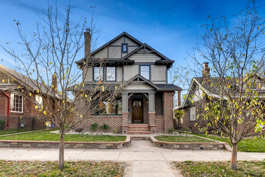award winning residential architecture firm single family home two story brick